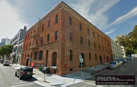 Sede de Linden Lab creadores de Second Life en California.